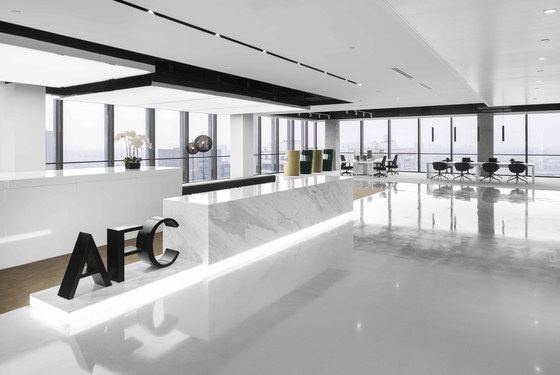 Asia Financial Tower by Spacemen | Office facilities