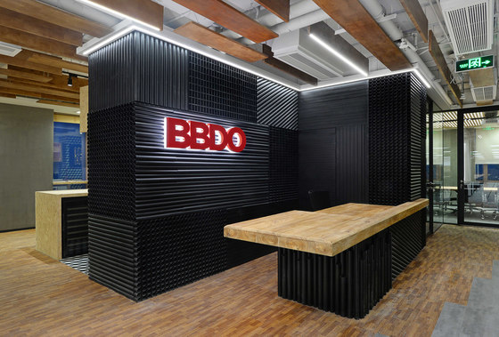 BBDO Live Office by Spacemen | Office facilities