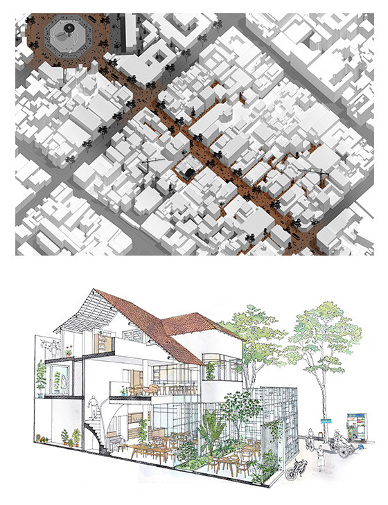 T House by Kientruc O | Restaurants