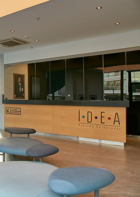 Idea Public Co-Working Area by B&T Design | Manufacturer references