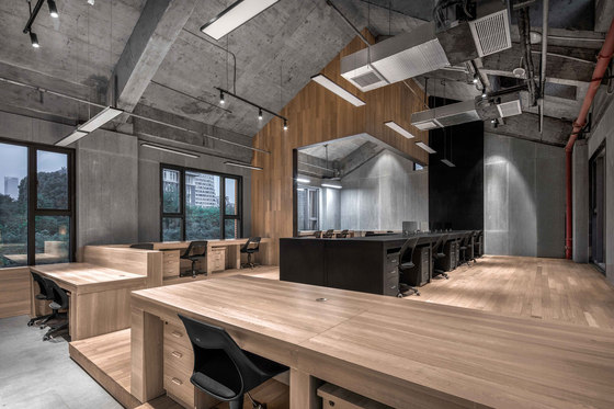 Zhongshan Road CoWorking Space by VARY DESIGN | Office facilities