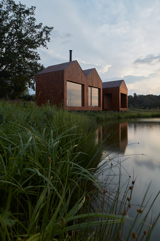 Cottage Near a Pond by studio A111 | Detached houses
