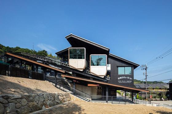 Monorail station of Amanohashidate by Koichi Hankai Architect & Associates | Infrastructure buildings