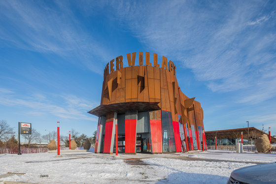 Pioneer Village by aLL Design | Railway stations