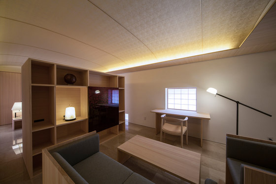 Oukikyo by Atsumasa Tamura Design office | Living space