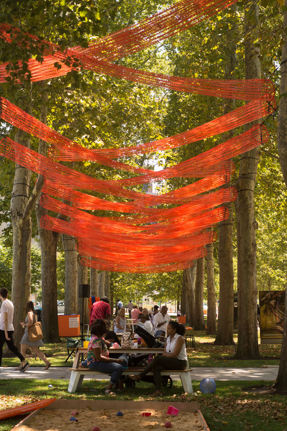 The Canopy at the Barnes / Alléesoid by Shiftspace | Installations
