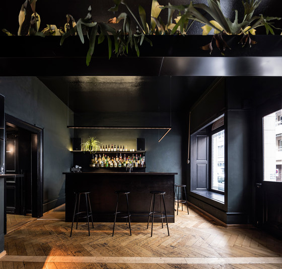 Nebel bar by Focketyn Del Rio Studio | Bar interiors