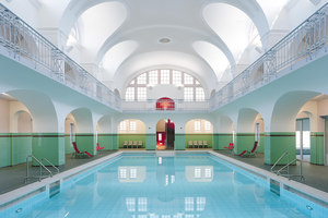 Gotha Municipal Pool | Indoor swimming pools | Veauthier Meyer Architekten