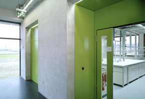 Syngenta/Masterplan, reception, chemistry and seed treatment building | Office buildings | Burckhardt + Partner AG Architekten Generalplaner