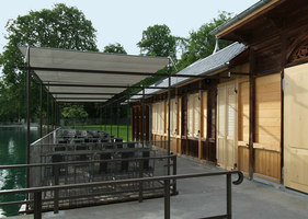 Flussbad Schwäbis | Piscine all'aperto | Johannes Saurer Architekt HTL BSA