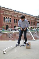 Blow & Roll Installation for the Victoria & Albert Museum | Installations | Oskar Zieta