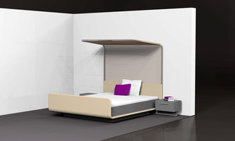 Modern four-poster bed | Prototypes | Designstudio speziell®