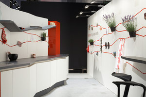 Concept kitchen / SieMatic | Trade fair stands | Designstudio speziell®