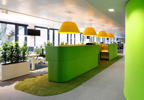 TeamBank Headquarters | Office facilities | Evolution Design