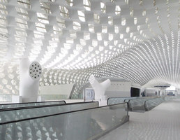 Shenzhen Bao'an International Airport, Terminal 3 | Aeropuertos | Studio Fuksas