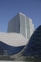 "Myzeil – shopping mall, part of the ""PalaisQuartier"" 