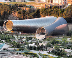 Rhike Park, Music Theatre and Exhibition Hall | Halles de concert | Studio Fuksas