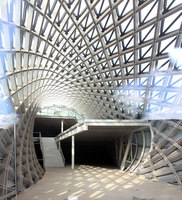 Rhike Park, Music Theatre and Exhibition Hall | Auditorium | Studio Fuksas