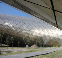 Rhike Park, Music Theatre and Exhibition Hall | Salas de conciertos | Studio Fuksas