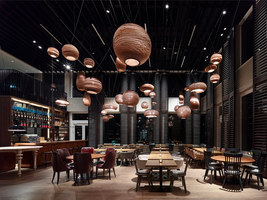 Motel One Campus-Restaurant | Restaurant interiors | Ippolito Fleitz Group