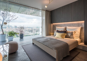 Show apartment 'Shades of Grey' | Living space | Ippolito Fleitz Group