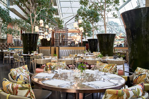RISE Restaurant at Marina Bay Sands | Hotel interiors | Aedas