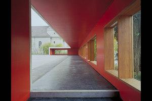 Pausenhalle und Lärmschutz   Schools   ernst niklaus fausch architekten