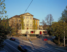 Pausenhalle und Lärmschutz | Escuelas | ernst niklaus fausch architekten