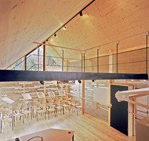 Infozentrum Naturpark Riedingtal | Verwaltungsgebäude | architekt steinklammer