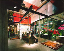 Hana Tetsu flower shop | Shops | KT Architects 級建築士事務所