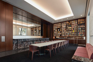 The Drawing Room at the Arts Club of Chicago | Intérieurs de bar | SOM - Skidmore, Owings & Merrill