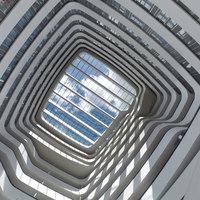 Hilton Amsterdam Airport Schiphol | Alberghi | Mecanoo