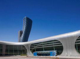Capital Gate | Bâtiments administratifs | RMJM