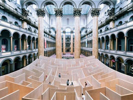 Maze At The National Building Museum | Installationen | BIG / Bjarke Ingels Group