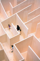 Maze At The National Building Museum | Installations | BIG / Bjarke Ingels Group