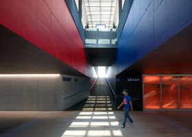 RER Train Station | Infrastructure buildings | Luscher Architectes SA