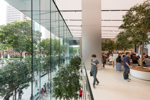Apple Orchard Road | Diseño de tiendas | Foster + Partners