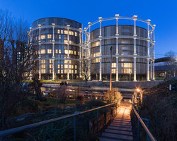 Gasholders London | Apartment blocks | WilkinsonEyre