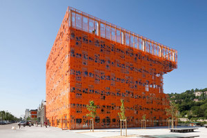 The Orange Cube | Edificio de Oficinas | Jakob + MacFarlane