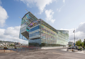 Headquarters Of Metropole Rouen Normandie | Immeubles de bureaux | Jacques Ferrier Architecture