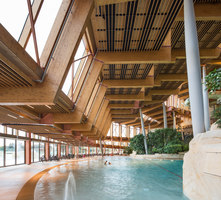 Water Park Aqualagon | Indoor swimming pools | Jacques Ferrier Architecture