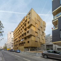 Golden Cube | Apartment blocks | Hamonic+Masson & Associés