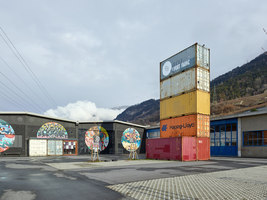 Le Port Franc | Auditorium | savioz fabrizzi architects
