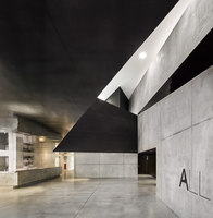 Allende Performance hall and rehearsal studios | Arene sportive | Dominique Coulon & Associés
