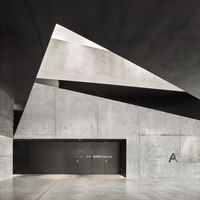 Allende Performance hall and rehearsal studios | Sports arenas | Dominique Coulon & Associés