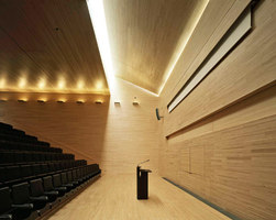Lecture Hall - Institute of Science and Technology - IST Austria | Universitäten | Atelier Heinz Tesar