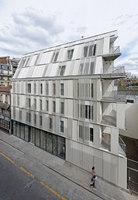 Social Housing rue Castagnary | Case plurifamiliari | Dietmar Feichtinger Architectes