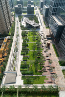 Beiqijia Technology Business District | Gardens | Martha Schwartz Partners