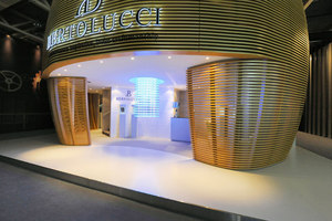 Messestand - Bertolucci at Baselworld trade fair | Trade fair stands | Patrick Norguet