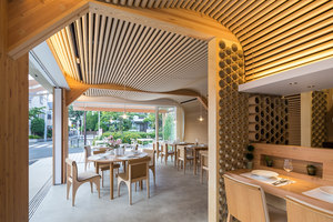 Vin Sante + N House | Restaurantes | Shigeru Ban Architects